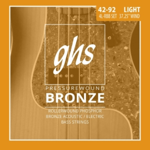 GHS Pressurewound Bronze Bass Strings