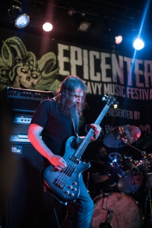 Jeff Matz with Dunable Guitars JM Signature Bass