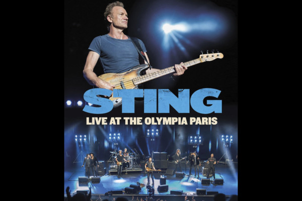"Sting Releases New Video, ""Live At The Olympia Paris"""