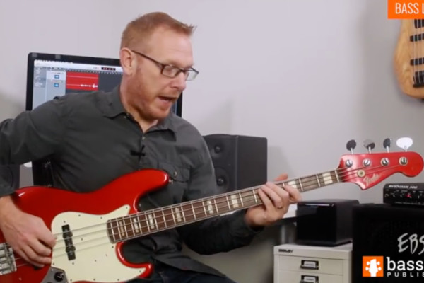 Stuart Clayton: Bass Lick of the Week #5 – Rock Bass Line with Plectrum