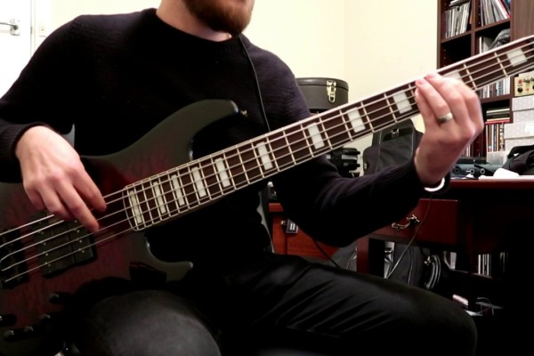 "Alex Canion: Bass Playthrough of Voyager's ""Ghost Mile"""