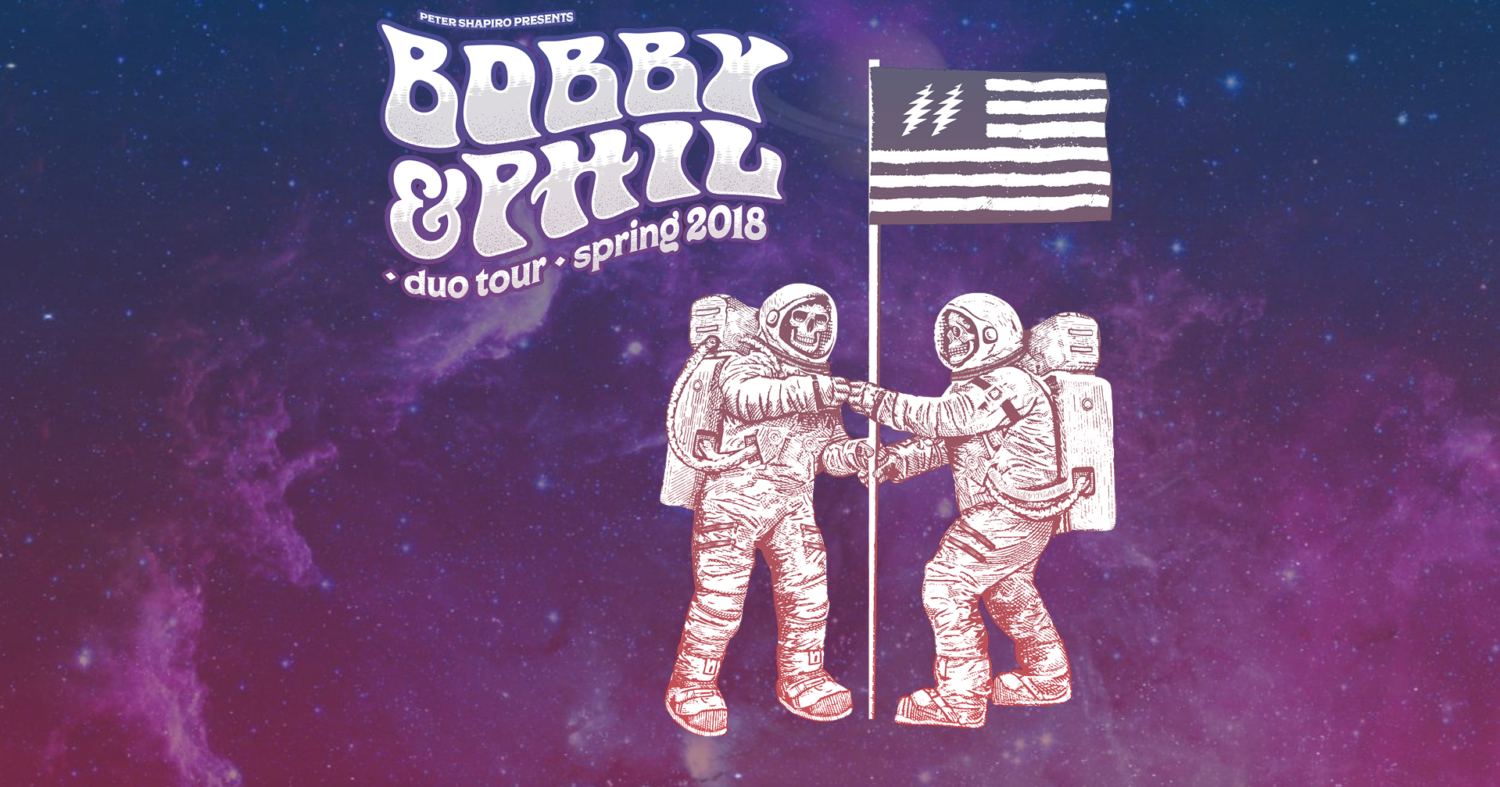 Phil Lesh and Bob Weir Duo Tour