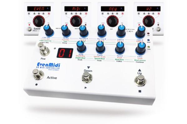 EvenMidi Updates H9 MIDI Controller