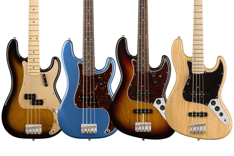 Fender 2018 American Original Series Basses