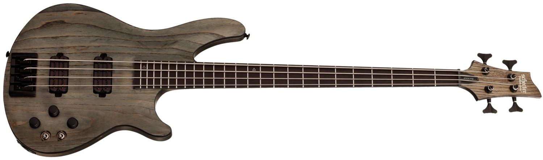 Schecter C-4 Apocalypse Bass Rust Grey