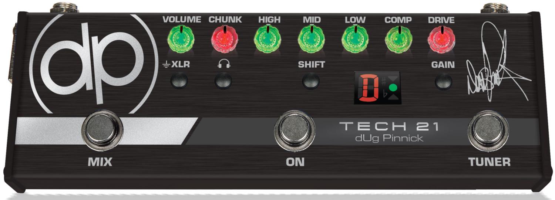 Tech 21 dUg Pinnick DP-3X Signature Pedal