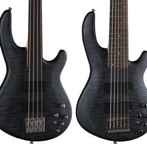 Dean Guitars Adds Flame Top Fretless, Six-String Edge Basses