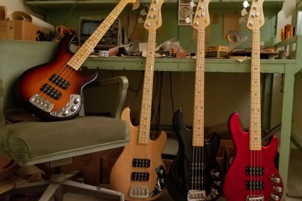 G&L Guitars Announce the CLF Research L-2000 Bass