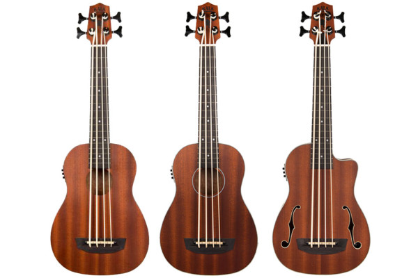 Kala Adds Three New Affordable U-Bass Models
