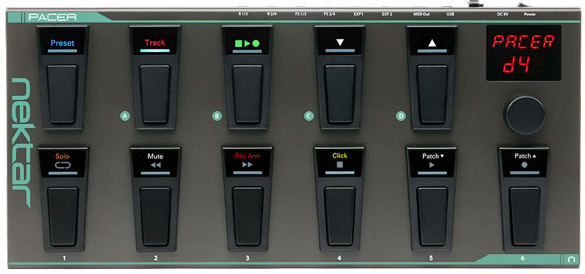 Nektar Technology Pacer MIDI Footswitch Controller
