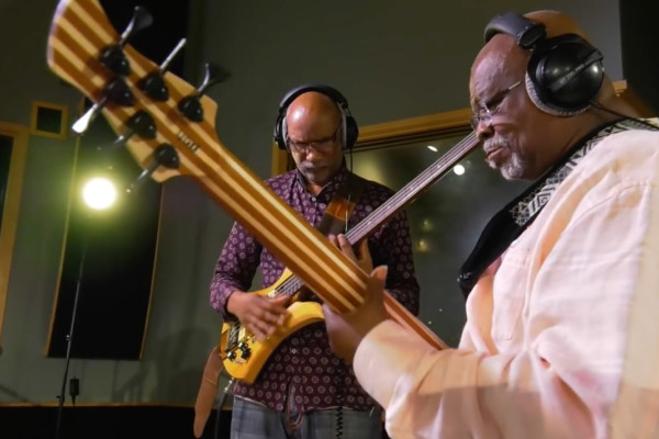 The Bass Walk: Abraham Laboriel & Pee Wee Hill