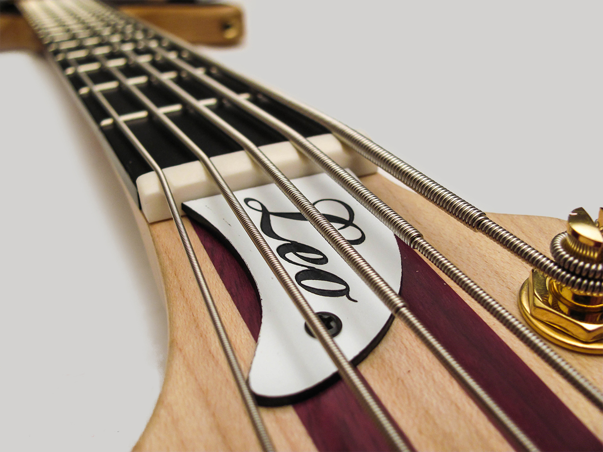 Amnesia Guitars Leo Bass Truss Cover