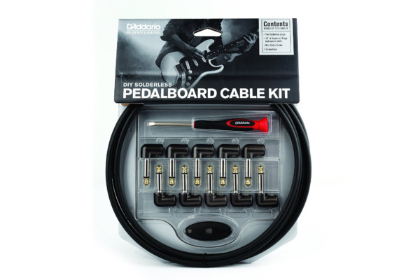 D'Addario Introduces DIY Solderless Pedalboard Audio Cable Kit