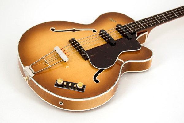 "Höfner Unveils the H500/5 ""Reeperbahn"" Bass"