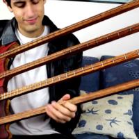 Davie504: Quadruple Neck Bass Jam