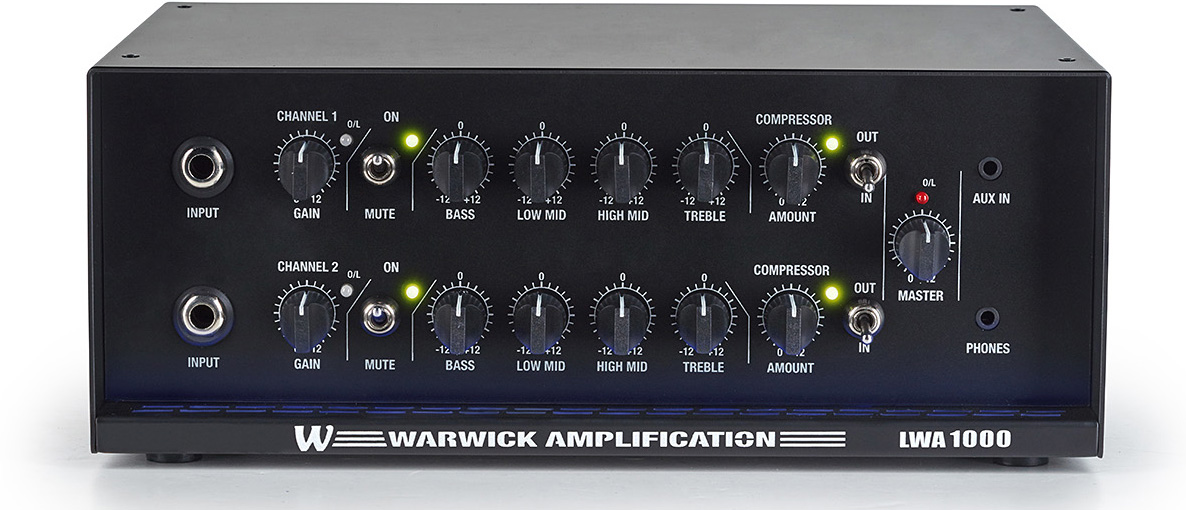 Warwick LWA 1000 Lightweight Bass Amplifier Head
