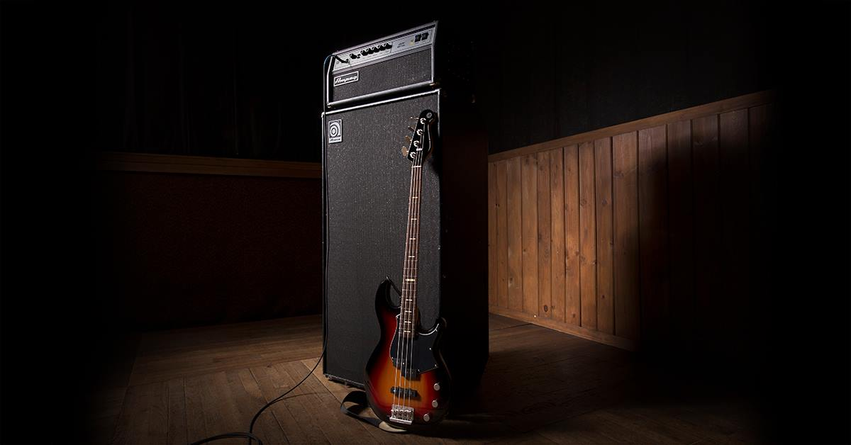 Ampeg with Yamaha Bass