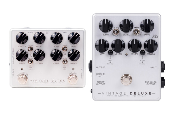 Darkglass Electronics Upgrades Vintage Series Pedals for 2018