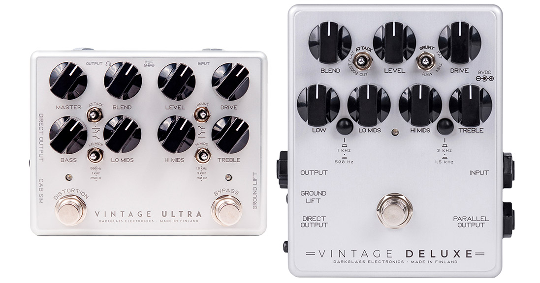 Darkglass Electronics 2018 Vintage Series Pedals