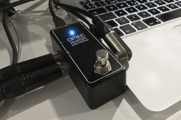 Orange Amplification Unveils the OMEC Teleport Audio Interface