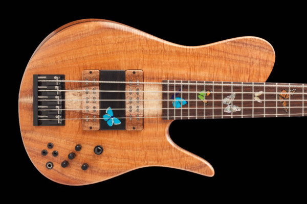 Fodera Unveils the Masterbuilt Butterfly Bass