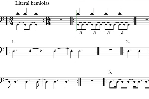 How To Play Hemiola Rhythms