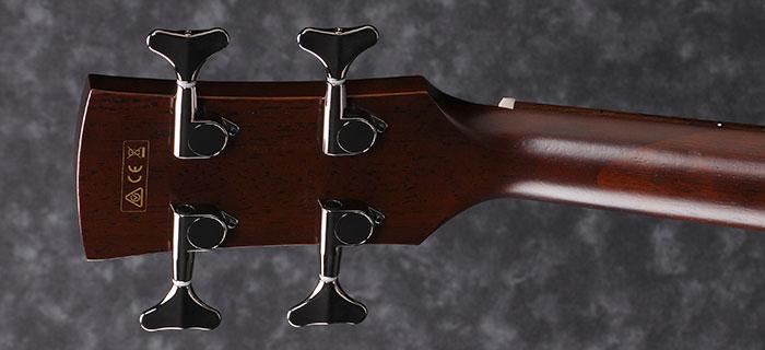 Ibanez AVNB1E Bass Back of Headstock