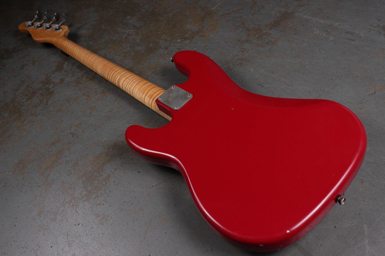 Pittman P Style Bass Back of Body