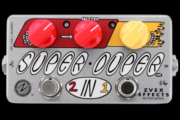 ZVEX Effects Unveils Super Duper Concert Bass Mod Pedal