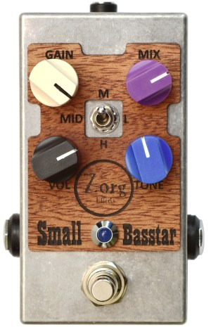Zorg Effects Small Basstar Overdrive Pedal