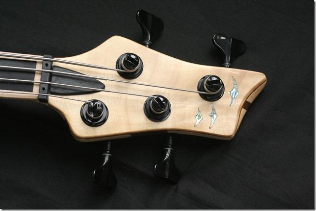 AJR Guitarmods Swift Lite Bass Headstock