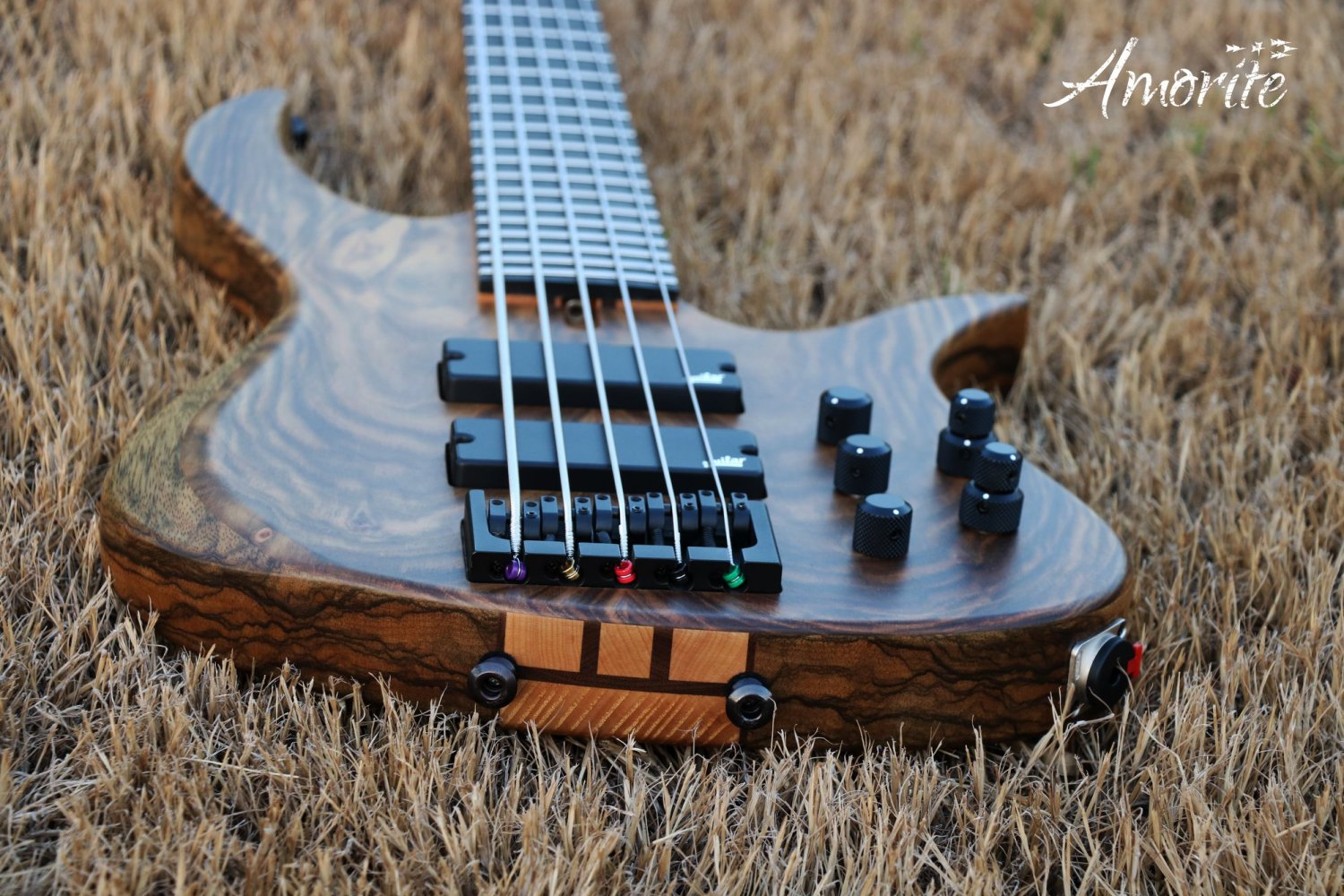 Amorite Guitars Kothar Bass Dual Strap Button