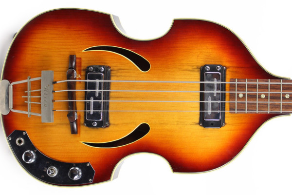 Eastwood Guitars Announces Modern Version of Klira Beatle Bass