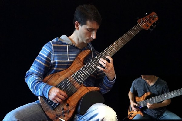 Damian Coccio: Six String Bass Chords and Ebow