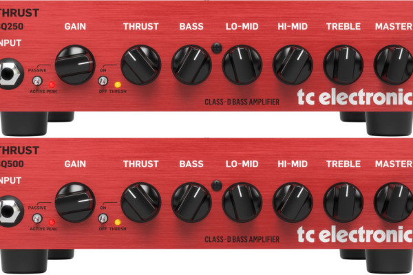 TC Electronic Unveils the BQ250 and BQ500 Bass Amps