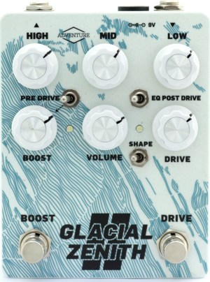 Advenure Audio Glacial-Zenith-V2-WhitAdventure Audio Glacial Zenith II Pedal
