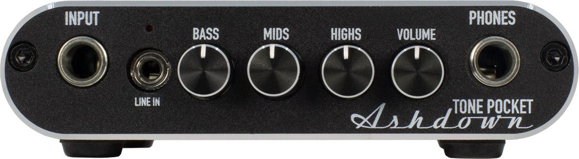 Ashdown Engineering Tone Pocket Portable Bass Headphone Amp