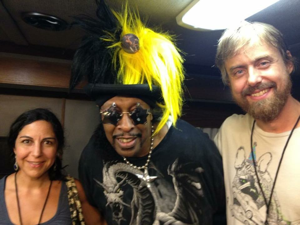 Chris Lightcap with Bootsy Collins