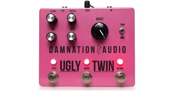 Damnation Audio Introduces Ugly Twin Pedal
