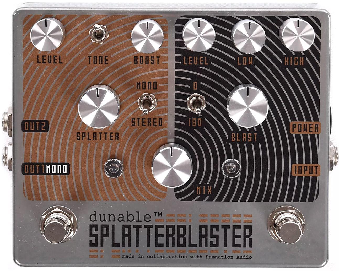 Dunable Guitars SplatterBlaster Pedal