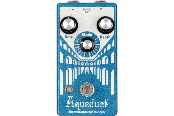 EarthQuaker Devices Introduces the Aqueduct Vibrato Pedal