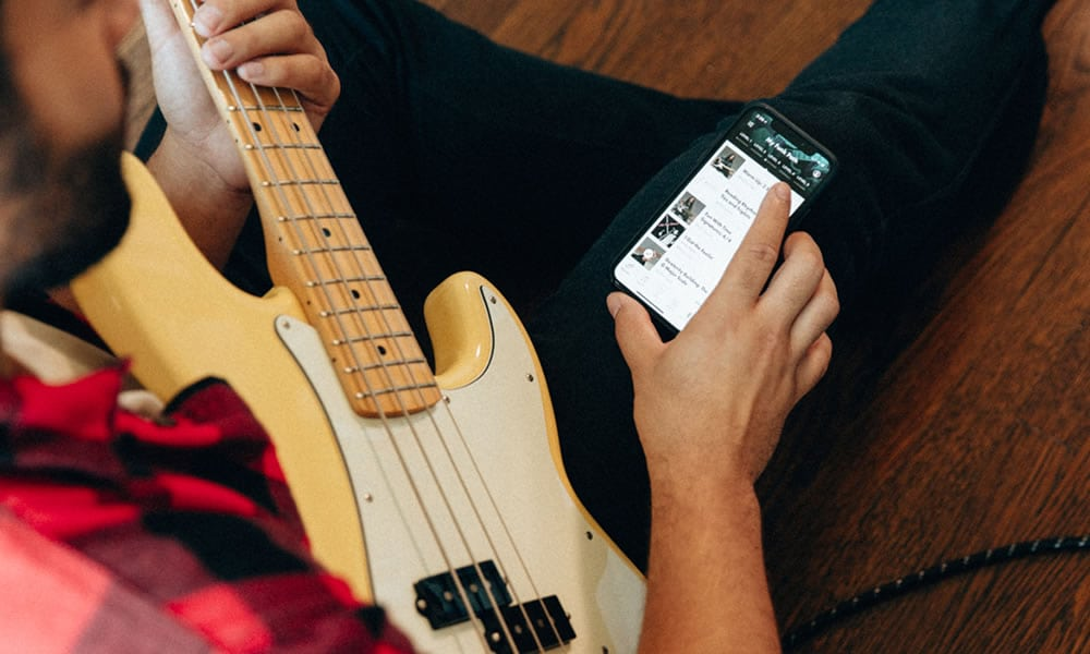 Fender Play App: Bass