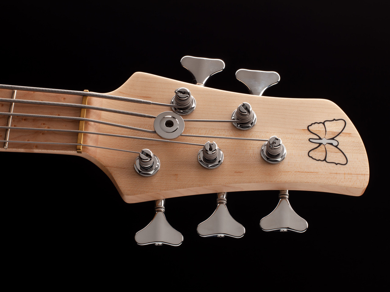 Fodera Emperor-J 5 Standard Classic Bass Headstock