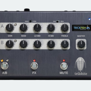 Trickfish Amplification Unleashes the Trilobite Preamp Pedal