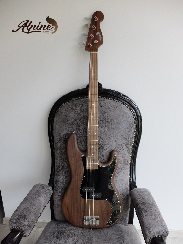 Alpine Guitar Black Bison Bass