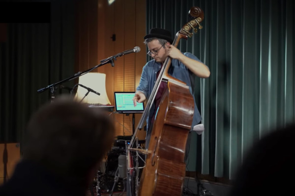 Adam Ben Ezra: Silk Road (Solo Bass Performance)