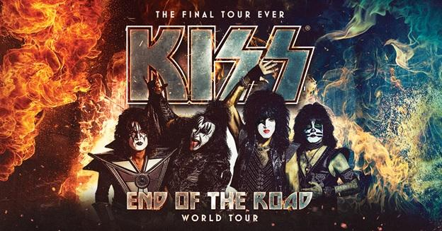 Kiss Tour Poster