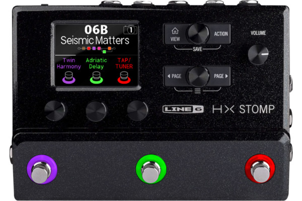 Line 6 Introduces the HX Stomp Multi-Effects Processor