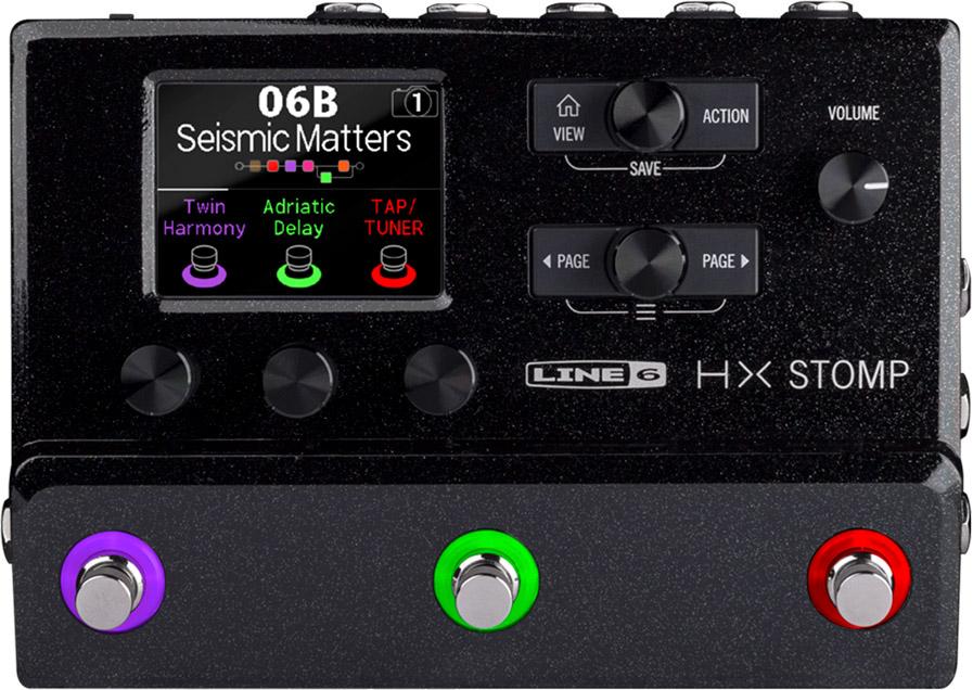 Line 6 HX Stomp Multi-Effects Processor