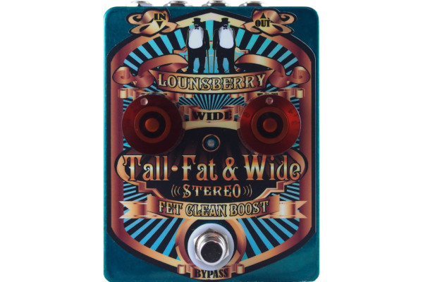 Lounsberry Pedals Introduces the Tall Fat & Wide Pedal